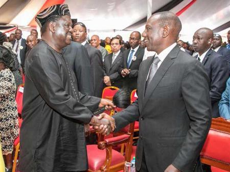 Raila-Ruto Alliance Hit by Turbulence in Mt Kenya Region