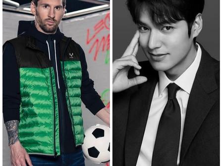 Check Out These Adorable Photos Of Lionel Messi And Lee Min Ho