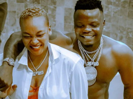 Harmonize's New Girlfriend Kajala Responds To Allegations Of Being Pregnant For Harmonize