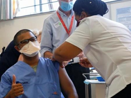 Over 100 healthcare workers vaccinated in Gqeberha's Dora Ngiza hospital