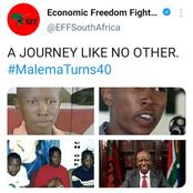 Julius Malema shares his transformational pictures