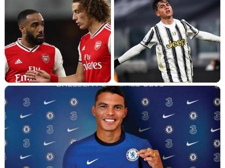 Transfer News Update On Dybala, Silva, Diaby, Luiz And Lacazzette