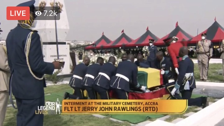 112a152aed7947529ae6d45556d8d380?quality=uhq&resize=720 - Sad Moment: How JJ Rawlings Was Conveyed By The Military To The Newly Built Burna Camp Cemetary