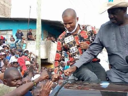 Amount Of Money Raila  Has Given A Church In Narok