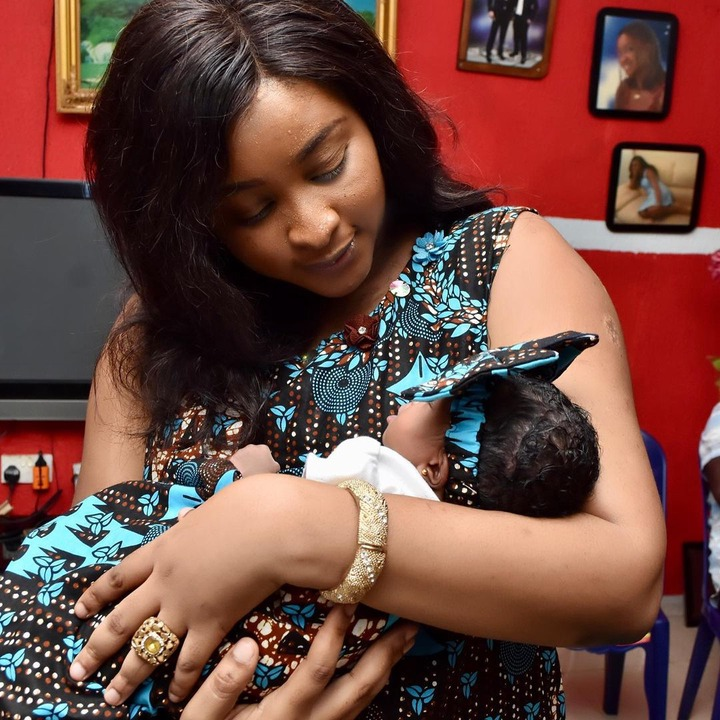 Photos from naming ceremony of Etinosa