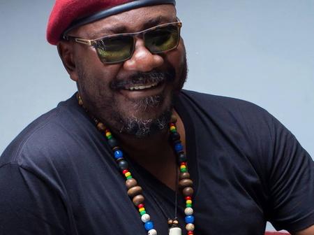 Veteran Nollywood actor, Sam Dede looking so happy as he celebrates his birthday today.