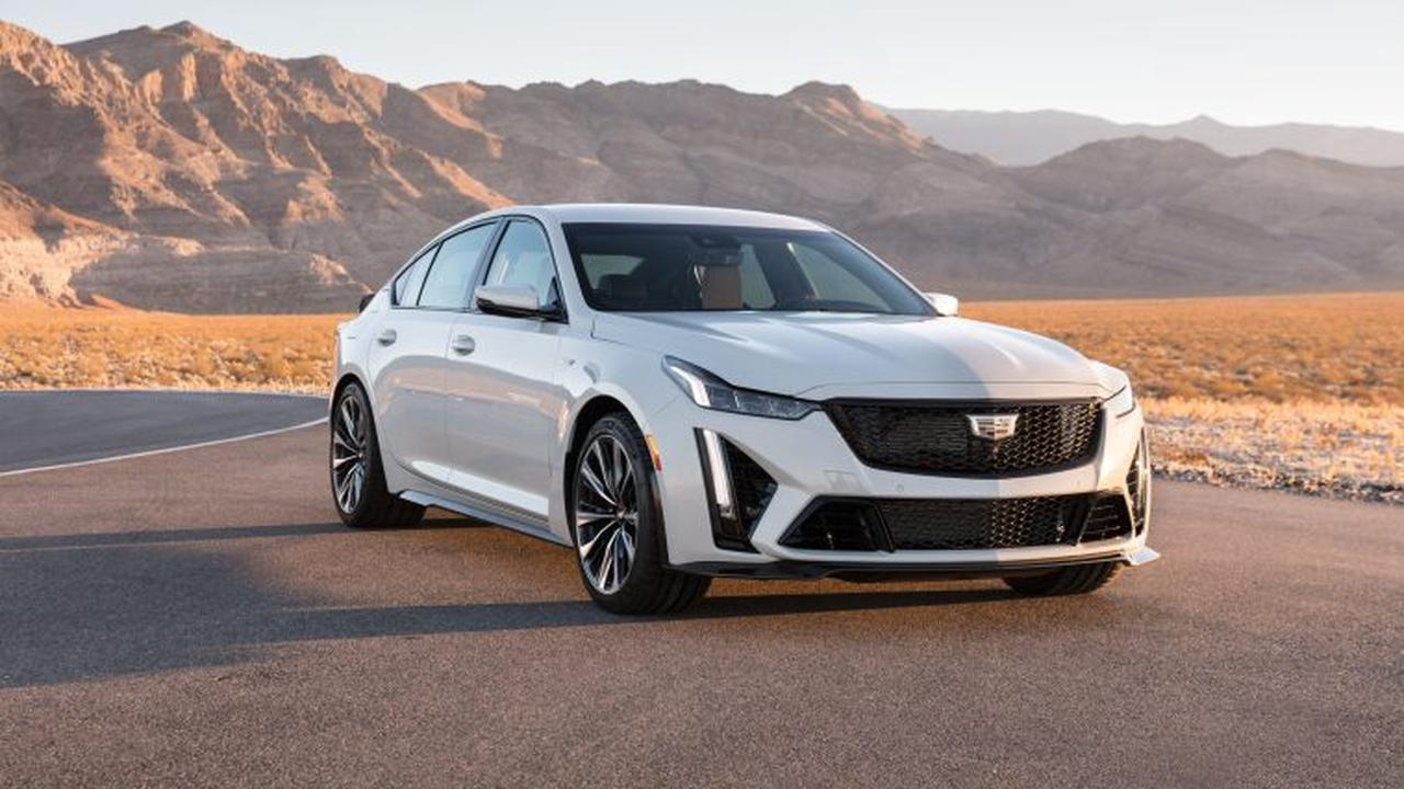 A Closer Look At The 2022 Cadillac CT5-V Blackwing LT4 V8 Engine