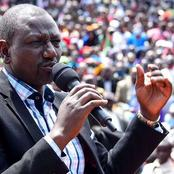 Raila allegedly called Ruto Mr six months after he failed to perform his promises