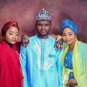 Checkout photos of the Youth APC leader who marred two wives on the same day.