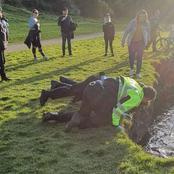 Human Skeletal Remains Retrieved From Swords Park