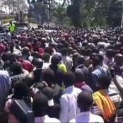 DP Ruto Received Warm Welcome In Nandi County