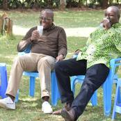 Photos Of Former Nairobi Deputy Governor Polycarp Igathe Drinking Mursik At An MP's Home