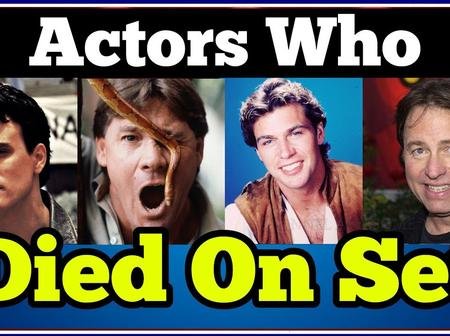 Heartbreaking: These 10 Popular Actors Died While Shooting A movie - Photos