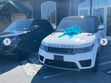 Davido's Elder Brother Surprises His Wife With An Expensive Range Rover Jeep