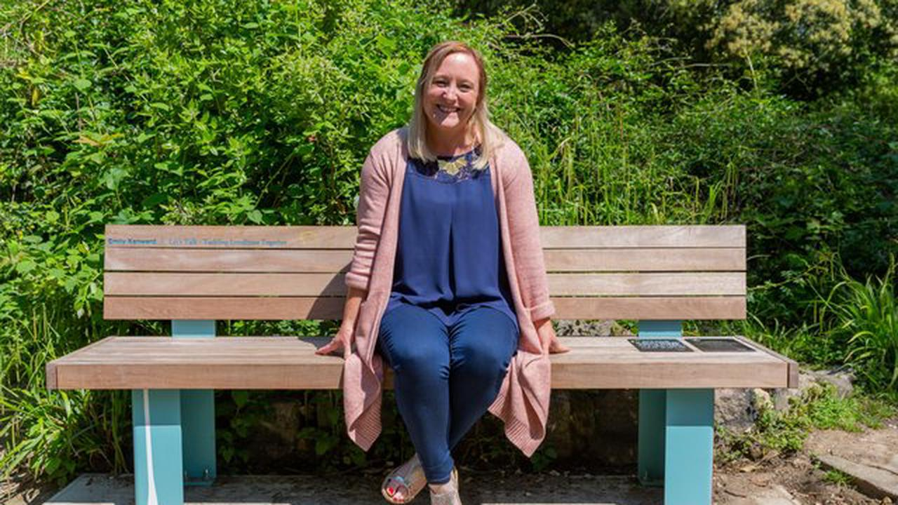 Jay Blades makes bespoke bench to honour charity's increasing work in Worthing and Adur