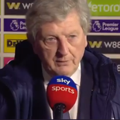 CRY 1-4 CHE: What Crystal Palace Manager Said After The Match