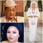People Should Leave Regina Daniels Alone. See Photos of A 23 Year Old Lady Who is Married to 81- year old  King.
