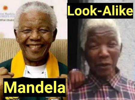 Days After Nelson Mandela Look-Alike Was Spotted, See What A South African Posted