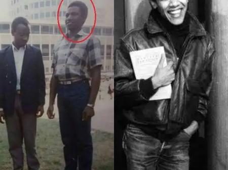 Here are Old Pictures of Obama and DP Ruto Before They Become Famous