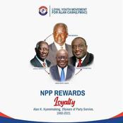 NPP rewards loyalty, not tribalism - The Loyal Youth Movement For Alan Cash speaks