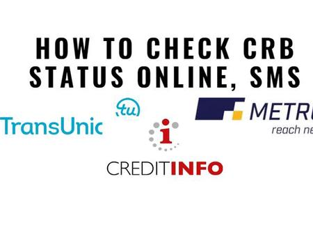 How to check credit reference bureau (CRB) status using your phone