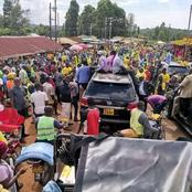 Bonchari Turns Yellow As UDA Brings Businesses To A Standstill In Suneka Ward