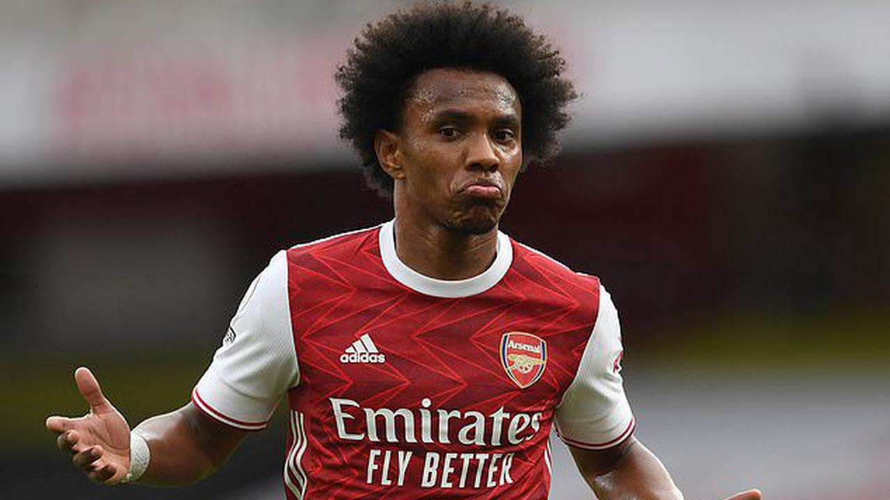 'West Brom relegated on account of letting Willian score': Twitter goes wild after Arsenal star scored his FIRST goal for the club at the 37th attempt... with hilarious memes poking fun at the Brazilian after his incredible free-kick