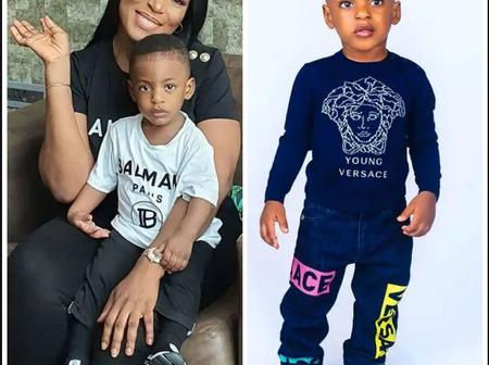Remember Linda Ikeji First and Only Child? See How Grown He Is Now. (Photos)