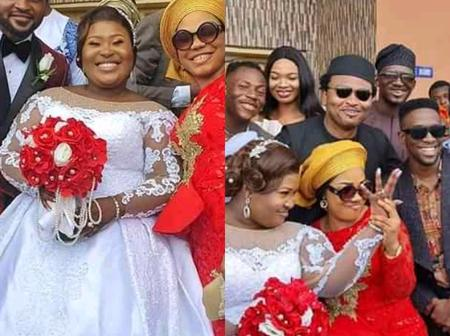 See Photos Of Gospel Singer Judikay's White Wedding That Mercy Chinwo And Eezee Concepts Attends