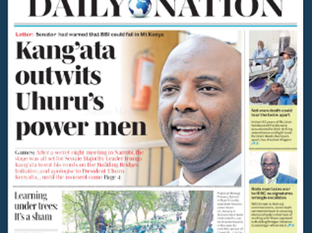 Kang'ata Outwits Uhuru's Power Men