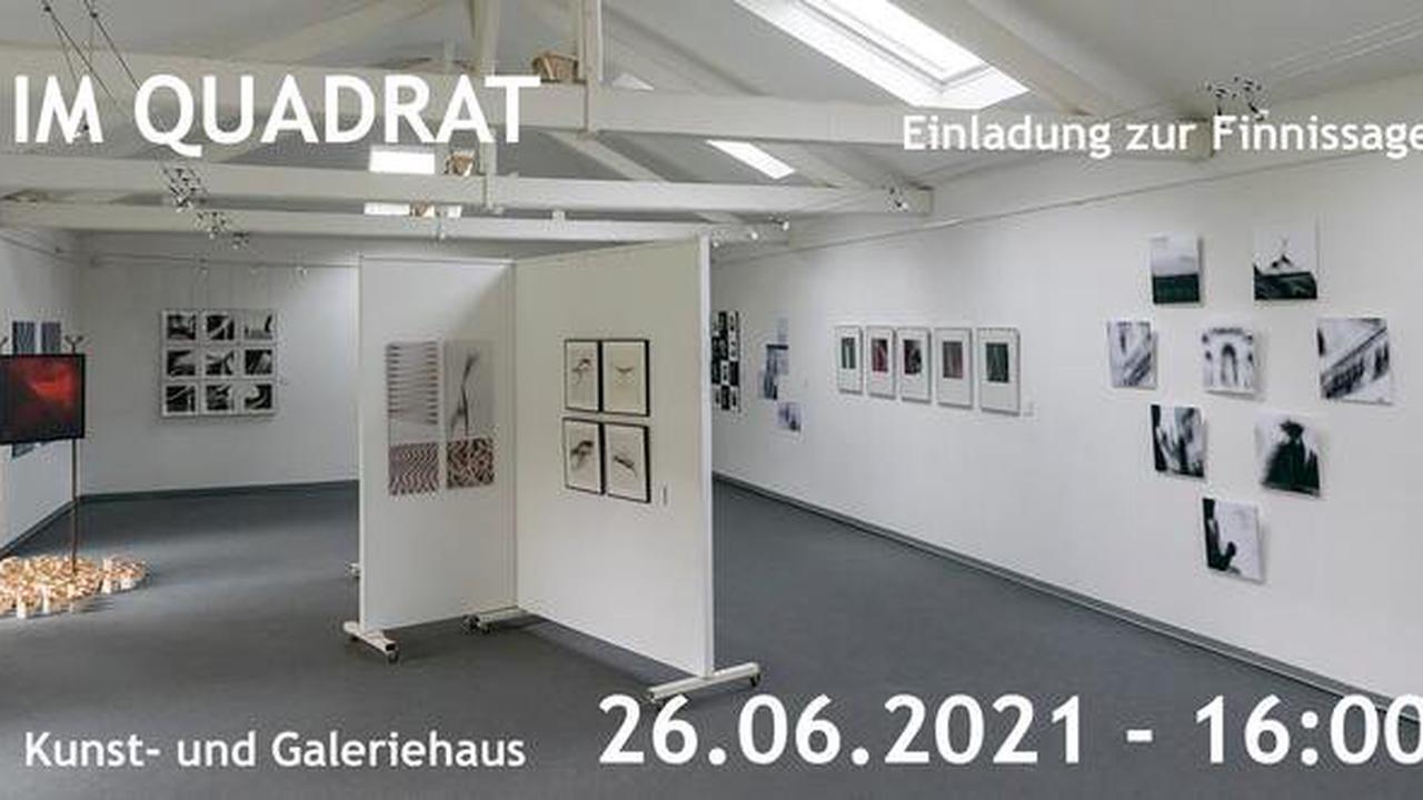 Finissage der Foto-Ausstellung IM QUADRAT