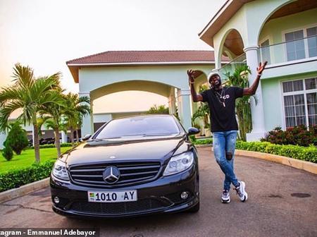 Togolese footballer Adebayor praises God as he posts his 2020 achievement