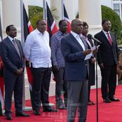 Reason Why DP Ruto Was Not Invited To The Meeting Organized Today By President Uhuru in Statehouse