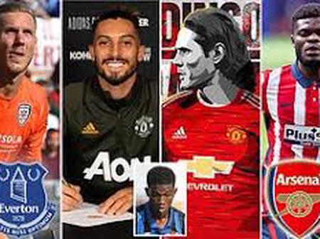 Done deals: All Transfer Deals That Happened From 1st October to 6th October, 2020.