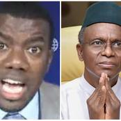 Only Satan Can Run With El-Rufai - Reno Omokri Counters Rumour On 2023 Jonathan Running Mate