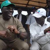 Photos Of Governor Obaseki And Oshiomole That Prove They Were Once Good Friends