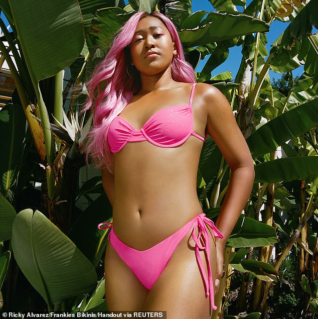 Tennis champion, Naomi Osaka flaunts her enviable physique in a range of swimwear (photos)