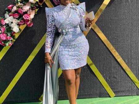 Look Beautiful In These Elegant And Stylish Short Aso Ebi Styles.