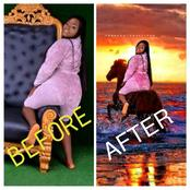 CheckOut These Amazing Photos— Lady Edited These Picture On Her Mobile Phone