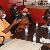 Speculations As Wiper Governor Meets With ODM Party Officials From His Region.