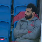 See what Salah did after being substituted for Sadio Mane