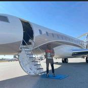 Money is Good: Davido flew to Los Angeles to have his Lunch