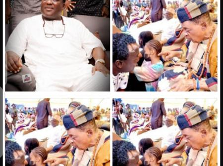 Saheed Osupa Shares New Pictures With Alaafin Of Oyo