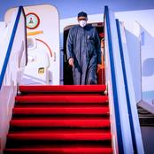 President Mohammadu Buhari Returns To Abuja After A Two Week Private Trip To London.