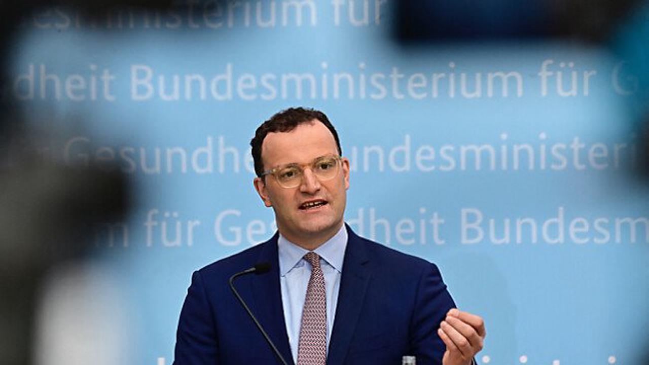 Vorwürfe gegen deutschen Gesundheitsminister Spahn