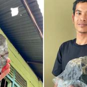 Indonesian Man Becomes Overnight Millionaire After A Meteorite Crashed Through His Roof