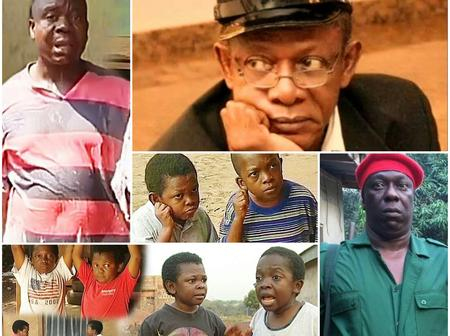 10 Great Nigerian Comic Actors We Will Never Forget: Check Their Recent Looks, Who Was Your Best?