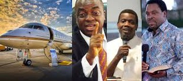See the Nigerian pastors who are richer than most politicians and businessmen in the country