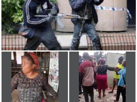 Daylight Robbery: Woman Almost Ran Mad After She Was Robbed Of #250,000 In Imo State(Video)