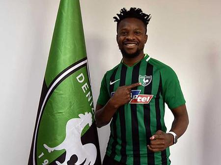 Super Eagles star complete a move to a new European club